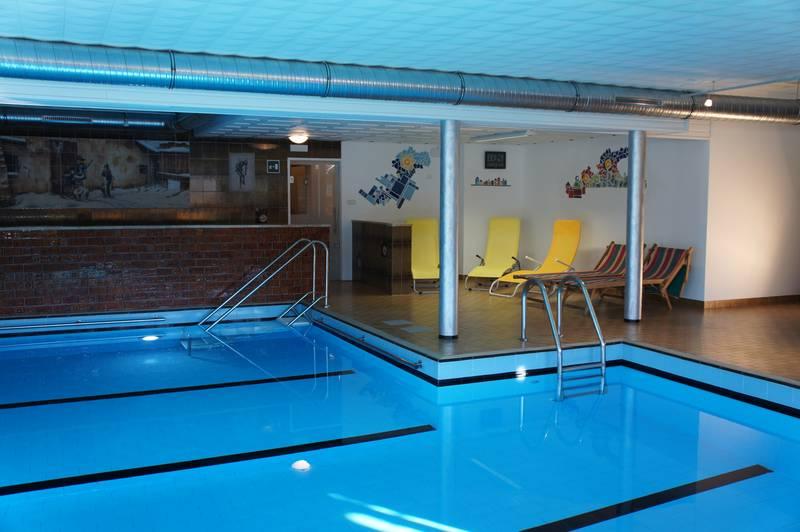 Swimming pool Hotel Gasthof Edy Pfalzen Bruneck Kronplatz